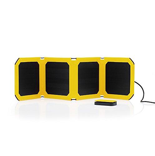 WakaWaka Solar Panel & Solar Link, geel