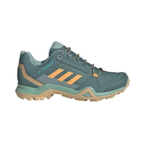 adidas Terrex AX3 W, Zapatillas de Senderismo Mujer, ESMBRU/NARBRU/AZCESI, 37 2/3 EU