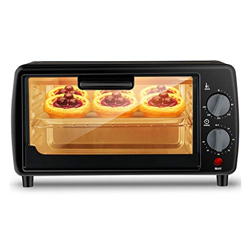 AICN 9L Mini Oven Adjustable Temperature 0-230 ? and 60 Minute Timer Three-Layer Baking Position Household Baking Electric Oven Baking Cake Bread Multifunctional Full Automatic with Accessories 600W