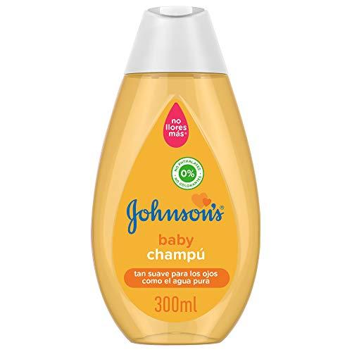 Johnson's Baby Champú Clásico, Pelo Suave, Brillante e Hidratado, 300 ml