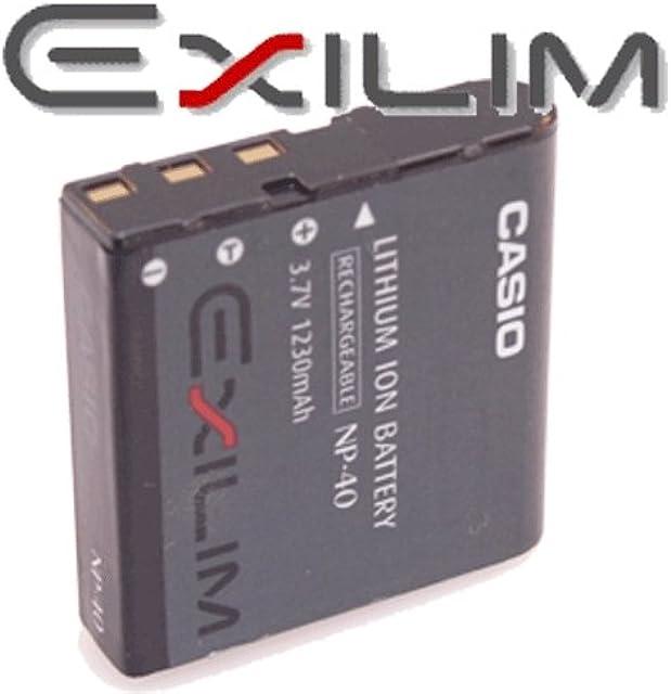 Batería Li-Ion CASIO NP-40 para CASIO EXILIM - Camaras fotográficas digitales