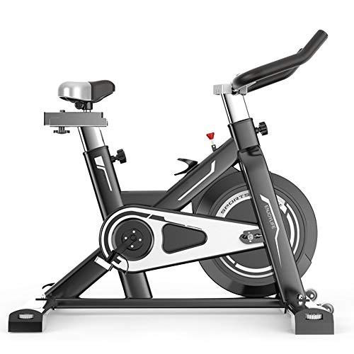 Sunferkyh Bicicleta De Interior Bicicleta De Giro Ultra Silencioso Pérdida De Peso Inicio Bicicleta Estática Adecuado para Uso DoméStico Y De Oficina (Color : Black, Size : 106x59x120cm)