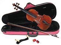 カルロジョルダーノ バイオリンアウトフィット VS-2C 1/4 ぴんくケース