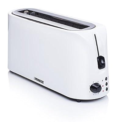 Princess 01.142330.02.001 142330 Long Slot Toaster Cool White