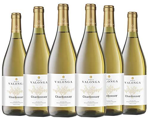 Vino Blanco Valonga Chardonnay. Finca Valonga Chardonnay Variedades 100% Chardonnay
