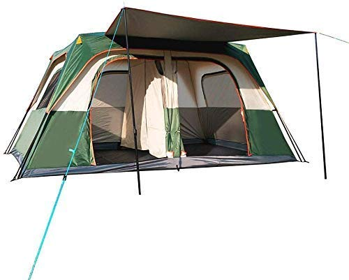 NDYD 5-8 Person Camping Tent - Automatic Outdoor Tents Instant Cabana Waterproof Shade Canopy Tarp for Outdoor Sports Hiking Travel Family Vacation DSB