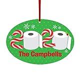 Ahagut Adornos navideños 2020 Decoraciones navideñas Personalizadas Adornos para árboles de Madera para Bricolaje Kit de Adornos navideños para Fiestas navideñas Celebración Familiar (A)