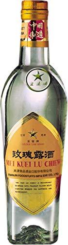 Golden Star Rosenblüten Spirituose Chinesisches Schnaps Mei Kuei Chiew 500ml