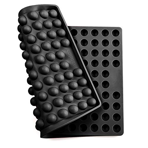 Collory große Halbkugel (2cm) Silikon Backmatte, Backform für Hundekekse DIY, Backunterlage für Backofen, Silikonmatte Alternative zu Backpapier, Hitzebeständig & Lebensmittelecht, Bpa-frei