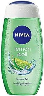 NIVEA Women Shower Gel, Lemon & Oil Body Wash, 125 ml