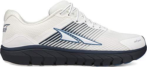 ALTRA Men's AL0A4PEA Provision 4 Road Running Shoe, White/Navy - 11 M US