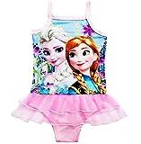 Disfraz de baño para niña – Color rosa – Completo con tutú – Idea regalo de cumpleaños Rosa 6-7 años
