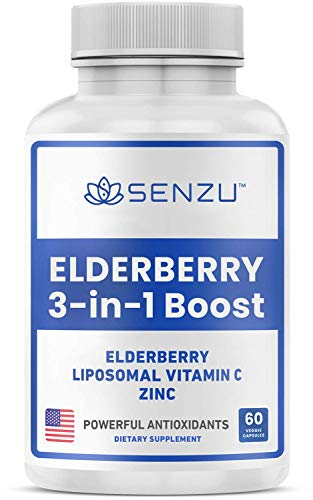 Sambucus Elderberry Capsules with Liposomal...