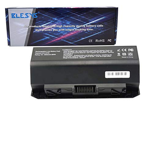 BLESYS Laptop Akku für ASUS ROG G750 ROG G750J ROG G750JH ROG G750JM ROG G750JS ROG G750JW ROG G750JX ROG G750JZ Serie