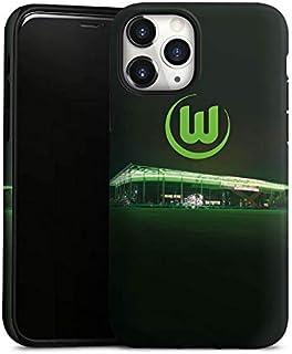DeinDesign Panzer Handyhülle kompatibel mit Apple iPhone 11 Pro robuste Outdoor Hülle Schutzhülle matt Offizielles Lizenzprodukt VFL Wolfsburg Stadion