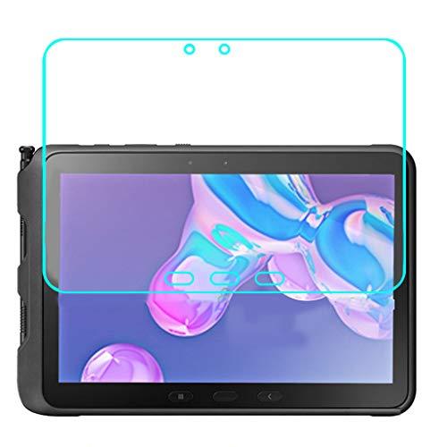"""Lot de 2 films de protection d'écran en verre blindé 9H compatibles avec Samsung Galaxy Tab Active Pro 10,1"""" T545"""