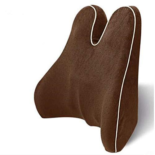 XWX Memory Foam Vita Lombare Laterale Cuscino di Sostegno della Colonna Vertebrale Coccige Proteggere Ortopedico Car Seat Divani da Ufficio Sedia Torna Cuscino (Color : B)