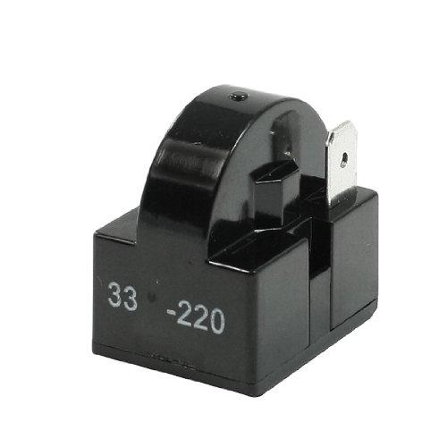 33 Ohm Widerstand Einzel Pin Terminals Kühlschrank PTC Anlasser Relais Magnetschalter