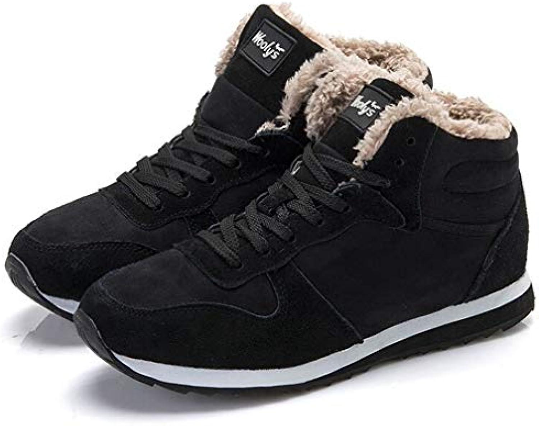 T-JULY Women's Boots Winter Fashion Snow shoes Ladies Warm Plush Ankle Boots Plus Size Sneakers