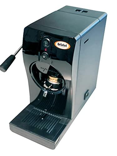 Bristot GRIMAC ESE Padmaschine TUBE | Kaffeemaschine - Espressomaschine für ESE Pads | schwarz