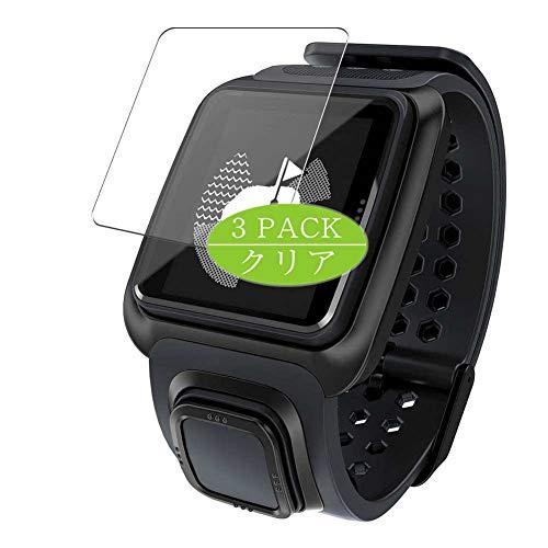 Vaxson 3 Stück Schutzfolie, kompatibel mit TomTom Golfer GPS Watch smartwatch Smart Watch, Displayschutzfolie Bildschirmschutz Blasenfreies [nicht Panzerglas]