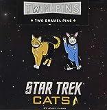 Star Trek Cats Twin Pins: Two Enamel Pins