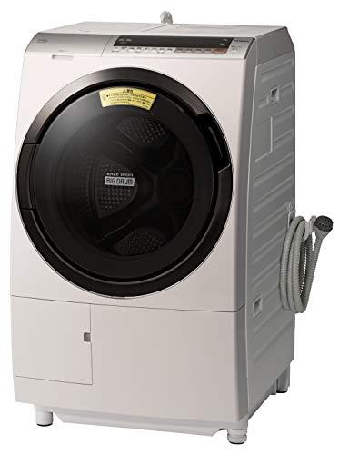 日立 11.0kg ドラム式洗濯乾燥機【左開き】ロゼシャンパンHITACHI ビッグドラム BD-SX110CL-N