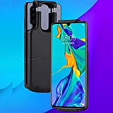 Type c Port Battery Case 5500mAh Rechargeable Portable Charger Case Extended Battery Protective Charging Case -Black for LG G5 G6 G7 G8 G8s ThinQ