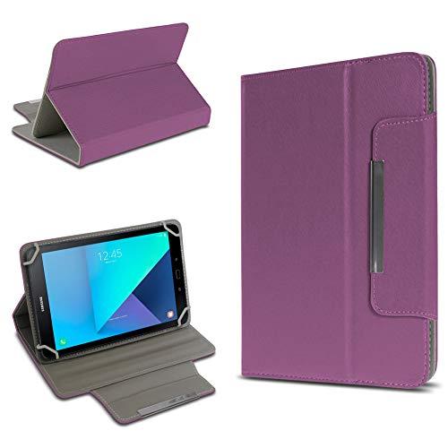 UC-Express Tablet Tasche kompatibel für Samsung Galaxy Tab Active 2 Hülle Tablet Schutzhülle Case Schutz Cover, Farben:Lila