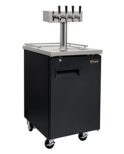 Kegco HBK1XB-4 Keg Dispenser