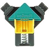 wolfcraft ES 22 Eckenspanner 3051000 Set – 2 Winkelspanner zur Fixierung von Brettern & Rahmen im 90° Winkel – Eckspanner