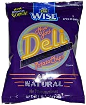 Wise New York Deli Kettle Cooked Chips 1.25 Ounce Bag - 36 / Case