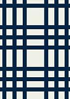 igsticker ポスター ウォールステッカー シール式ステッカー 飾り 1030×1456㎜ B0 写真 フォト 壁 インテリア おしゃれ 剥がせる wall sticker poster 004003 チェック・ボーダー チェック 黒 白