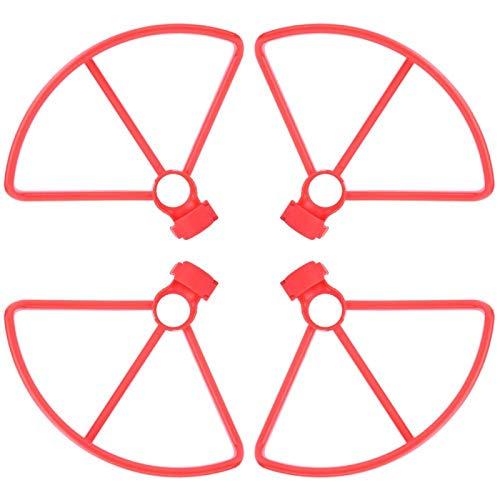 FOLOSAFENAR Protezione delle Pale dell elica Accessorio Necessario 4Pcs Protezione dell elica del Drone RC per Xiaomi FIMI A3 con buona Resistenza(Red)