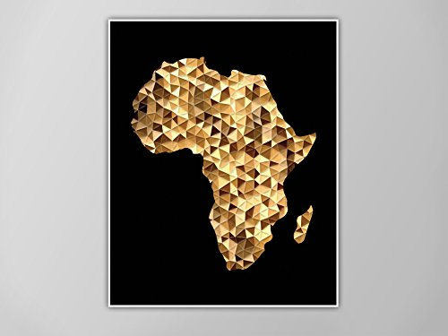 Map Of Africa Art Amazon.com: Africa Art Print, Africa Map Print, Africa Map Art