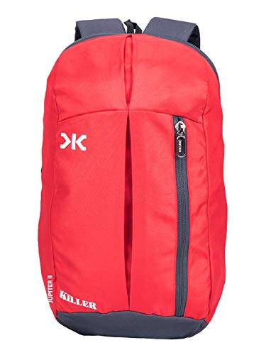 KILLER Jupiter Red Small Outdoor Mini Backpack 12L Daypack