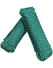 Touw 8 mm 20 m - polypropyleen touw PP, feestmakerlijn, multifunctioneel touw, brei, tuintouw, outdoor - breukbelasting: 700kg, 20m x 8mm