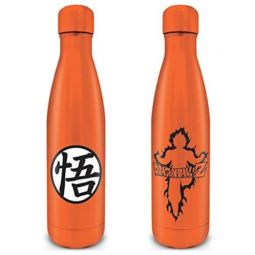 Dragon Ball Z MDB25699 Trinkflasche, Stahl, 550 ml (Goku Kanji) Jugendliche, Unisex, Mehrfarbig