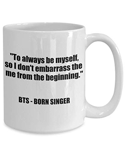 N\A BTS Merch Born Singer Bangtan Boys Taza de café Mercancía BTS Kim Namjoon Taehyung Min Yoongi Park Jimin Jung Hoseok Jungkook Seokjin