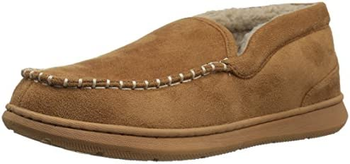 Dockers Men s Craig Ultra Light Mid Moccasin Premium Slippers tan Beige 10 M US product image