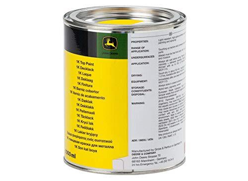 JohnDeere Decklack Farbe (1L, Gelb)