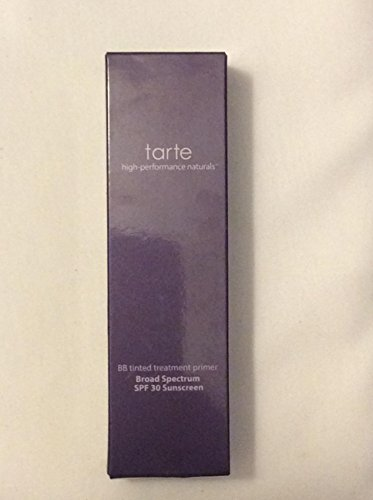 Tarte BB Tinted Treatment 12-Hour Primer Broad Spectrum SPF 30 Sunscreen, Medium, 1-oz