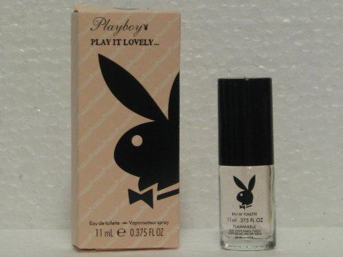 Playboy Play It Lovely by Coty Paris-New York Eau De Toilette Perfume 11 ml/0.375 fl oz