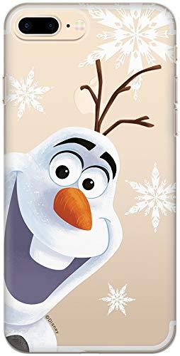 ERT Frozen DPCOLAF408 - Custodia per iPhone 7+ / 8+, colore: Trasparente