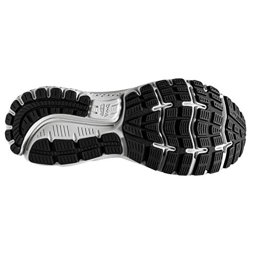 Brooks Mens Ghost 12 Running Shoe - Black/Pearl/Oyster - 2E - 11.0 5