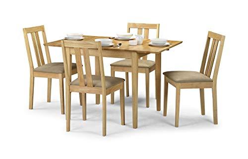 Julian Bowen Rufford Ausziehbarer dinging Tisch und 10,2cm Rufford Stühle, Holz, braun