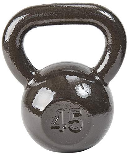 BalanceFrom CAST Iron Kettlebell 45LB