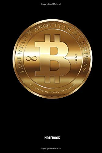 Notebook: Bitcoin Coin - Lined Bitcoin Notebook   Journal. Great Bitcoin Accessories & Novelty Gift Idea for all Crypto Currenca & Bitcoin Enthusiasts.