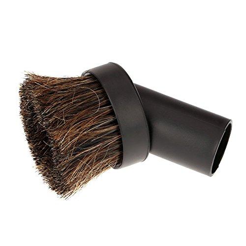SODIAL 32mm Cepillo de Polvo por Aspiradora / cepillo de polvo de la fijacion de la herramienta del pelo Aspire el polvo Ronda Caballo