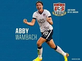 Spot Dog Abby Wambach 24X36 Poster SDG #SDG687589